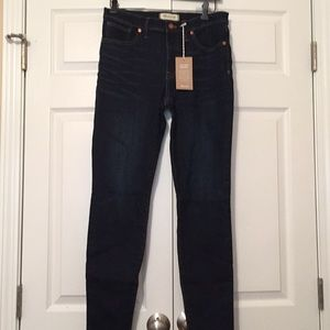 """Madewell 9"""" mid-rise skinny jeans tencel edition"""